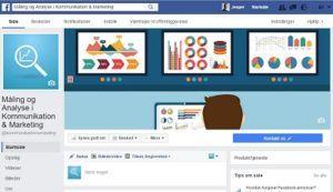 Min Facebook-side ændrer sig en smule