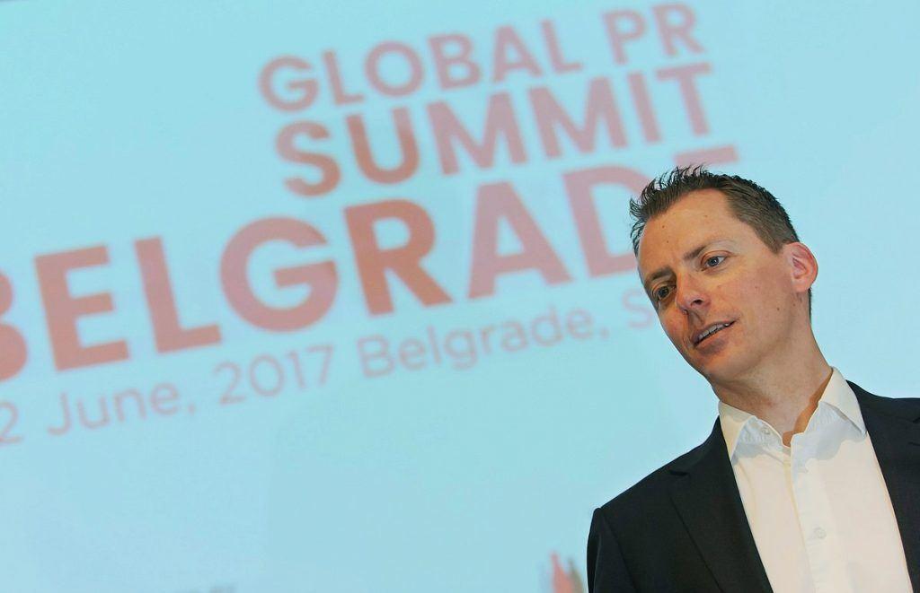 keynote speaker Jesper Andersen