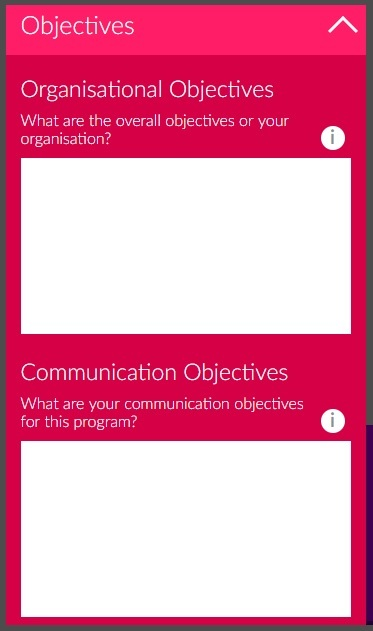 AMEC IEF objectives